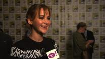 """Why Jennifer Lawrence Loved Working In Water For """"Catching Fire"""""""