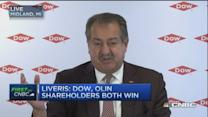 Dow Chemical to merge unit with Olin