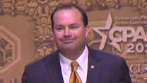 Sen. Mike Lee speaks at CPAC