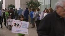 Immigration reform supporters rally in Los Angeles, Sacramento
