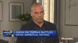 Greek government 'slave' to institutions: Varoufakis