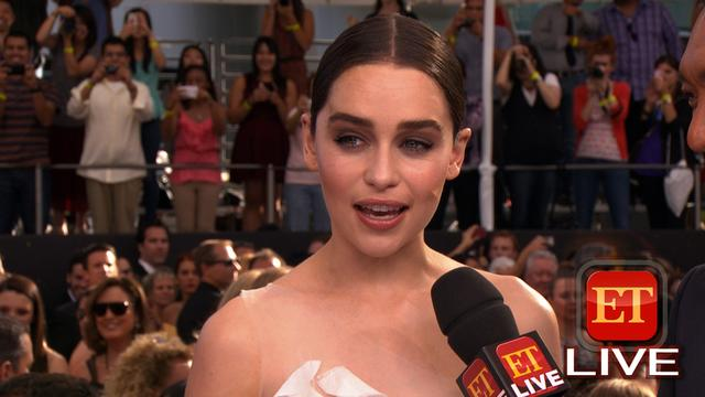 The 65th Emmy Awards Red Carpet: Emilia Clarke