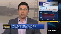 Yahoo's Q1 disappoints
