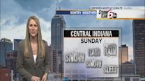 Sunday's Forecast: Precipitation returns