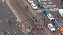Long Lines of Traffic Amid Anti-Lockdown Protest in Melbourne