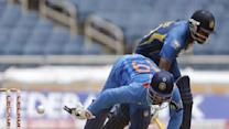 Srilanka beats India by 161 runs in tri-series