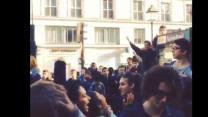 French High School Students Rally for Deported Roma Girl