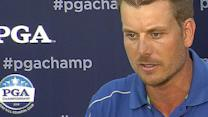 Henrik Stenson Interview after Round 4 of PGA Championship