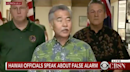 Hawaii missile alert: Tears 'streamed down children's faces' as terrified crowds sought shelter from ballistic missile that never was