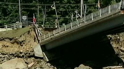 Loon Mountain Bridge Collapses