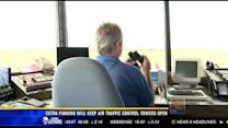 Extra funding will keep air traffic control towers open