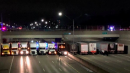 13 semi truck drivers line up under bridge to stop man from committing suicide