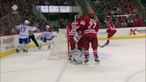 Desharnais buries shot after great passing