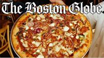 Grapevine: A random act of pizza for the Boston Globe