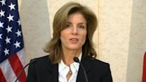 U.S. ambassador to Japan, Caroline Kennedy, arrives in Tokyo