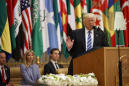 Contradictions add up during Trump's Saudi visit