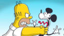 Homer Simpson Meets Mickey Mouse, And It Goes Just As Well As You'd Expect