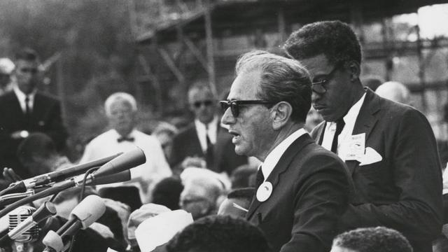The rabbi who spoke out for civil rights in America