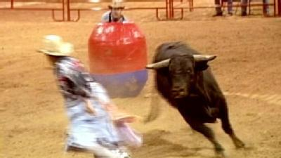 Final Day Of Arkansas Oklahoma State Fair Brings Bull Fighters