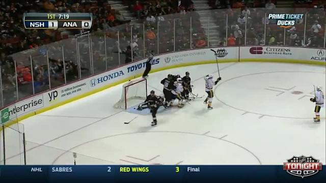 Nashville Predators at Anaheim Ducks - 04/04/2014