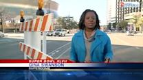 More roads are set to close ahead of Super Bowl XLVII