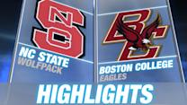 NC State vs Boston College | 2014-15 ACC Men's Basketball Highlights