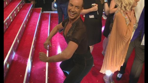 Strictly 2013: Julien Macdonald twerks on the red carpet