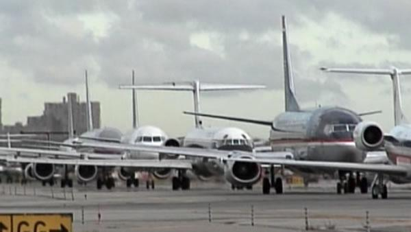 Flight delays pile up today after FAA budget cuts