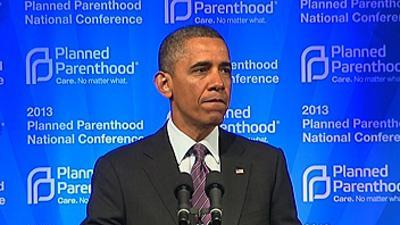 Obama Vows to Fight for Planned Parenthood