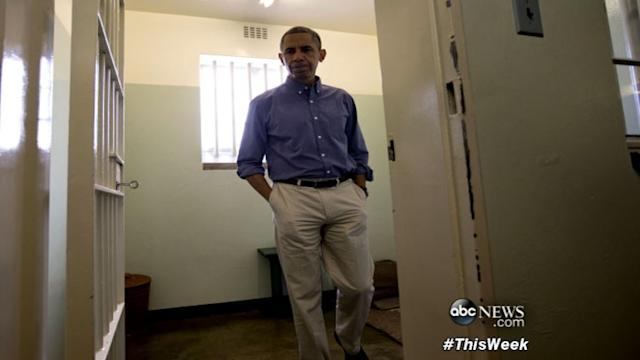 'This Week': Obama in South Africa