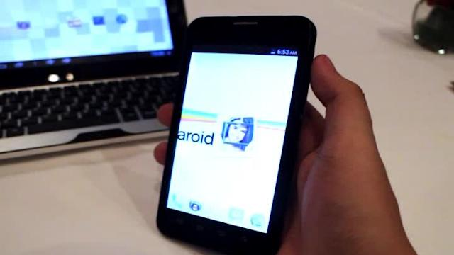 First look: Polaroid ProGD16 Android phone