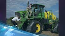 Lower crop prices a pain for Deere