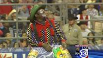 Rodeo clowns explain dangerous side of job