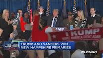 Trump, Sanders take NH primaries