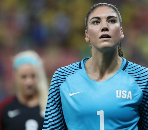 U.S. Soccer suspends Hope Solo for six months after Olympic comments
