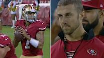 Fans wonder which QB will start for 49ers' next game