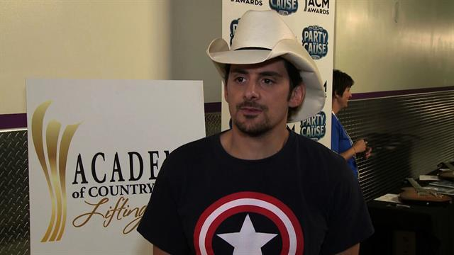 Academy of Country Music Awards - Brad Paisley Interview