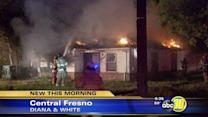 Fresno Fire investigates massive house fire