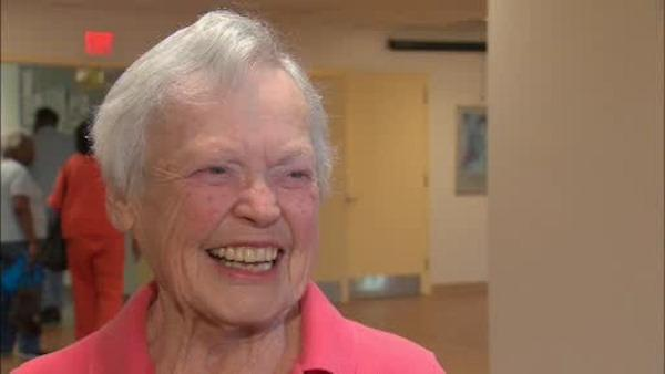 92-year-old fitness instructor still going strong