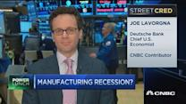 Is the US experiencing a manufacturing recession?
