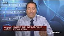 United Airlines ground stop lifted