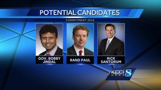 Potential presidential candidates at GOP convention