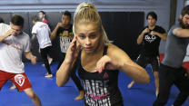 Paige VanZant ready to fight anyone