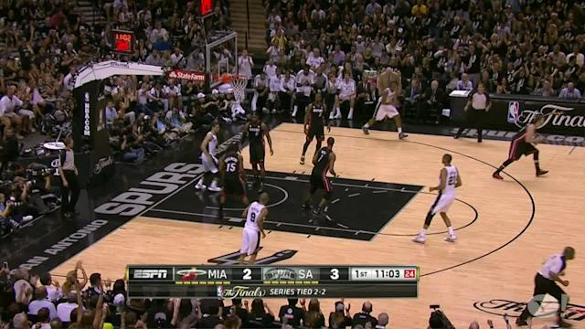 Manu Ginobili helps Spurs beat Heat in Game 5