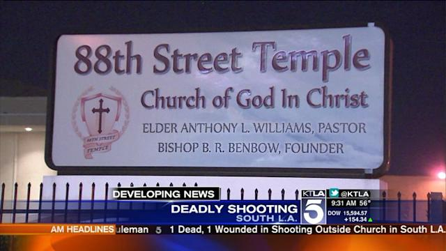 1 Dead, 1 Wounded in Shooting Outside Church in Westmont