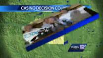 Supporters turn up heat on governor over casino