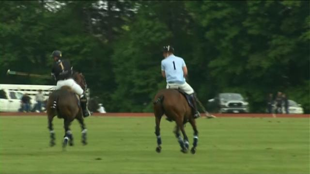 Prince Harry plays polo at end of US tour