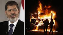 Violent protests continue in response to Morsi's power grab