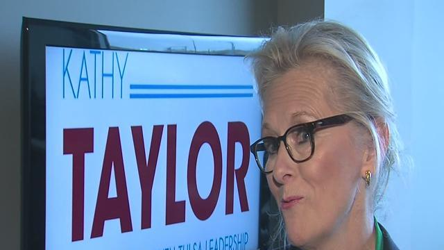 Former Mayor Kathy Taylor runs again