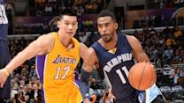 Grizzlies vs. Lakers